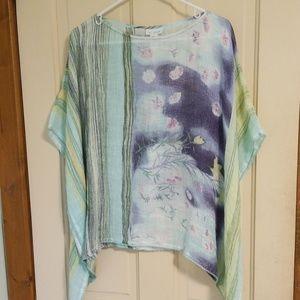 J jill kimono top